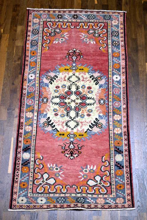 Anatolian hand-knotted rug 3x6