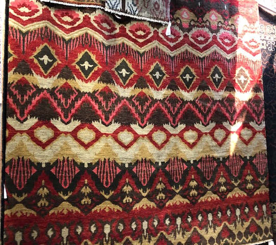 34-AN-054  KAL 388958 ARTISAN AN -054 RST RED SIZE 7'10 X 9'7  (handknotted)