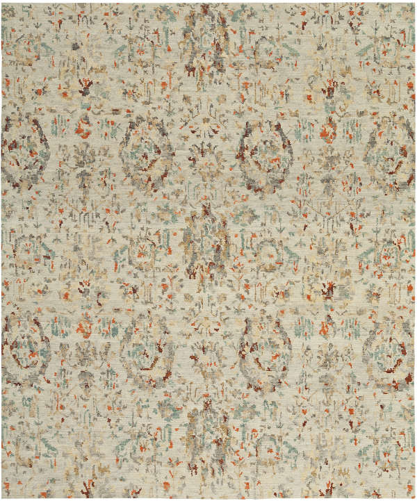 Imported hand-knotted rug