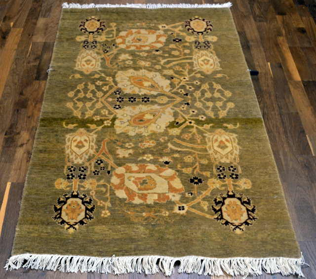 "SAFAVIEH LAHORE 602A LIGHT BLUE SIZE 3X4'4"" RUG"