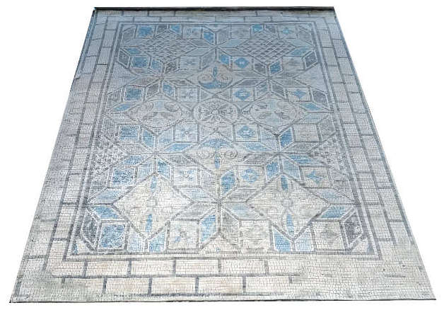 Mosaic - hand-knotted rug