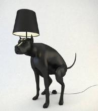 Lamp of great date relieving himself