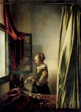 "Vermeer painting ""Girl Reading a Letter"""