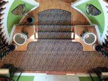 Custom stair and hall runner - multi-shaped