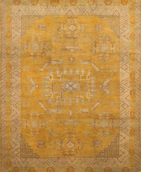 Khotan 8x10 hand-knotted rug