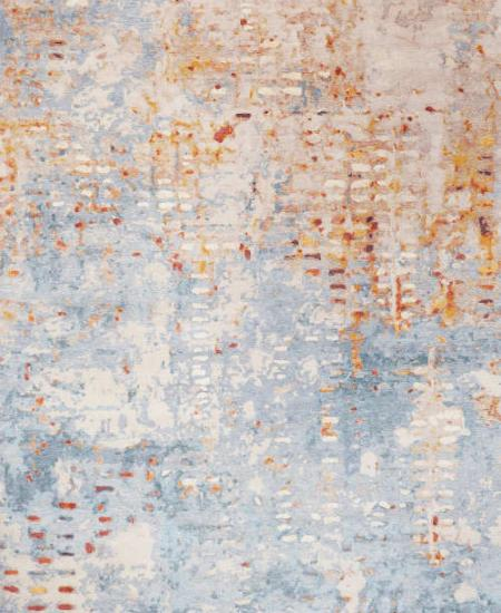 Hand knotted wool rug Bestia