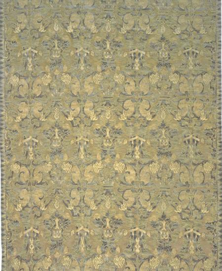 """FRESCO SAVONILE  6813GD MORENO hand knotted in china. All wool."" 8'1X10 Rug"